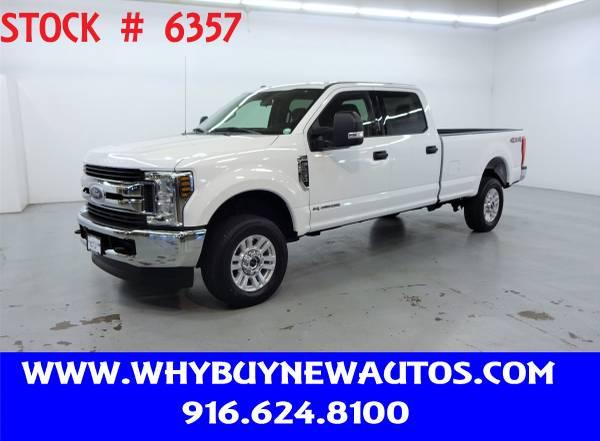 Photo 2018 Ford F250  4x4  Diesel  XLT Crew Cab  Only 18K Miles - $44980 (Rocklin)