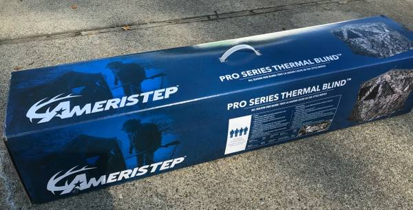 Photo Ameristep PRO SERIES Thermal Ground DUCK HUNTING 4 Person BLIND - $250 (Redding)