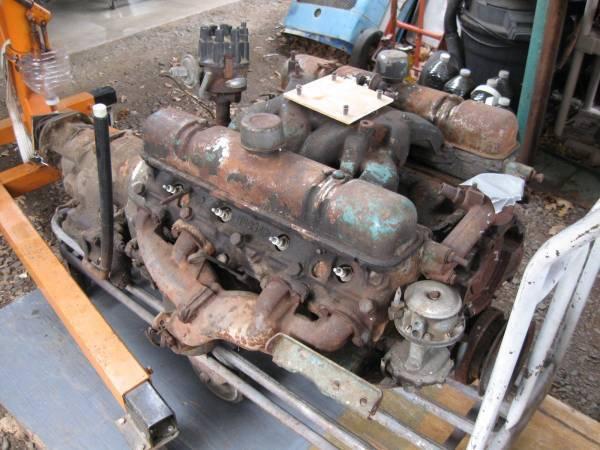 Photo Buick Nailhead Engine  Trans Parts (s-oregon)