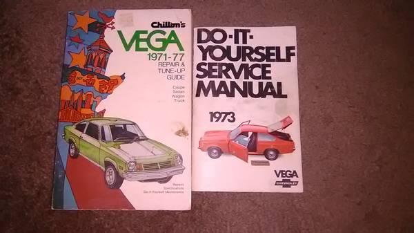 Photo Chevy Vega repair manuals 1971-1977 - $20 (REDDING CA)