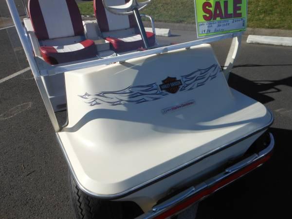 Photo Classic Harley Davidson Golf Cart - $2000 (So. Redding)
