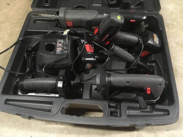 Photo Craftsman Battery Tool Set 19.2 volt - $100