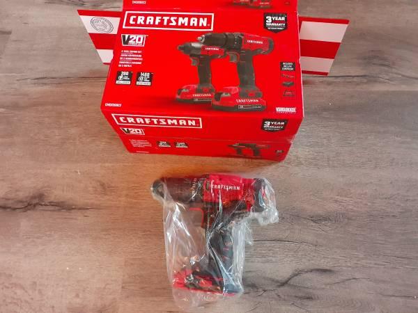 Photo Craftsman drill - $40 (REDDING)