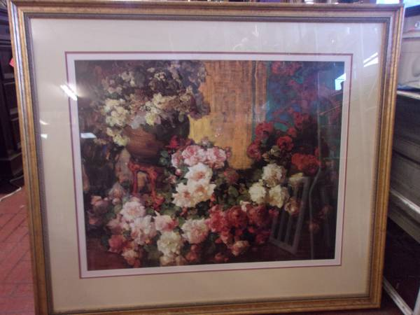 Photo Ethan Allen Collection framed picture - $65 (Red Bluff)