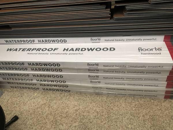 Photo Exquisite Shaw Floort Waterproof Walnut Hardwood Flooring - $6 (Redding)