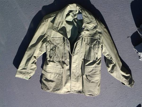 Photo Field Jackets M65 one medium and one large - $40 (redding ca)