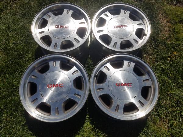 Photo GMC Sierra Wheels Rims 16quot Chevrolet Silverado Yukon Suburban Tahoe - $250