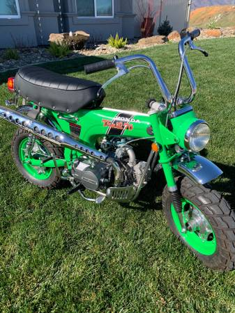Photo Honda CT70 Trail 70 Motorcycle 1970 - $3450 (Redding)