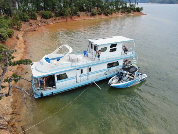 Photo Houseboat for sale Trinity lake CA - $79999 (Redding)