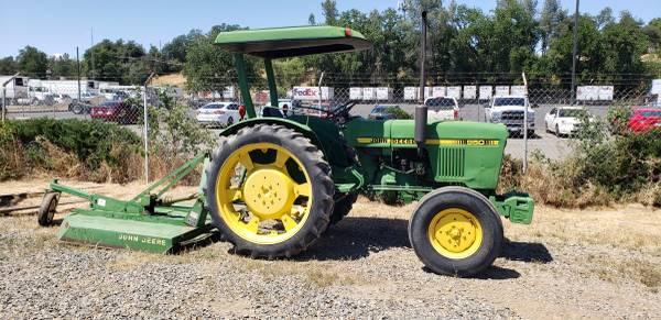 Photo John Deere 950 Tractor w Rotary Mower - $6,900 (Redding)