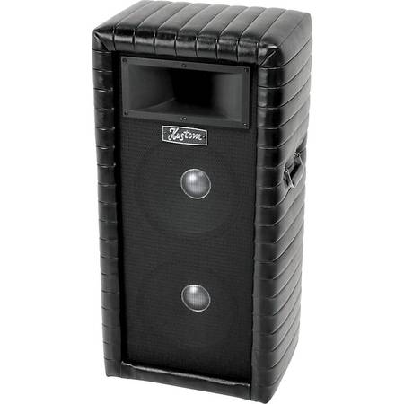 Photo Kustom PA towers Tuck n Roll 2x12quot with horn - $300 (Anderson)