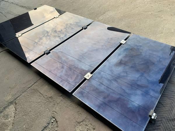 Photo LOT OF 4 FIRST SOLAR FS-4102A SOLAR PANELS 102.5W USED - $150 (Santa Paula)