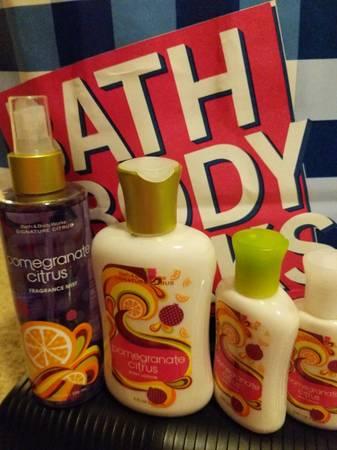 Photo New Bath and Body works Pomegranate Citrus Lot - $15 (Redding)