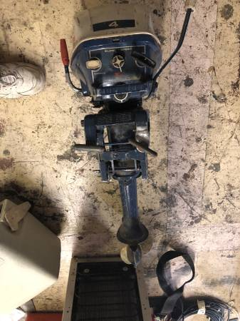 Photo OUTBOARD MOTOR 4HP - $400