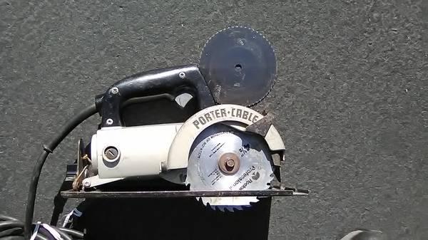 Photo Porter Cable Trim Saw model 314 - $125 (redding ca)