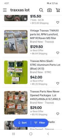 Photo RC cartruckhelo inventory. Traxxas, Associated, etc - $5,000 (Anderson)