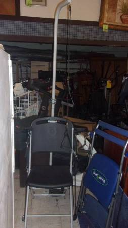 Photo Resistance chair exercise system - $50 (Red Bluff)