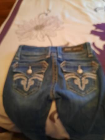 Photo Rock revival jeans - $50 (Redding)