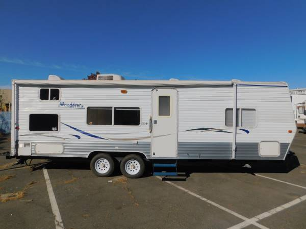 Photo THOR WANDERER 26 BUNKHOUSE TRAVEL TRAILER - $11,588 (GOLD COUNTRY RV)