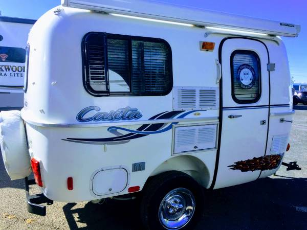 USED 2001 Casita M-13 Patriot Deluxe - $10992 (Towtally ...