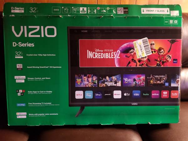 Photo VIZIO 32quot smart TV Television D-series - $150 (Shingletown)
