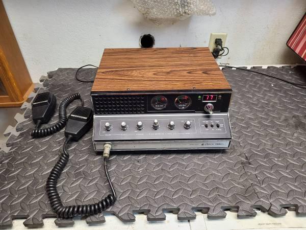 Photo Vintage Cobra 142gtl CB Radio Base Station - $175 (Redding)