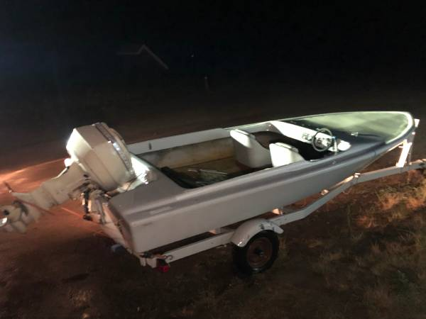 Photo Reverse Auction - 1972 Bayon Ski Boat - Hand made in Redding - $4,800 (McCloud)