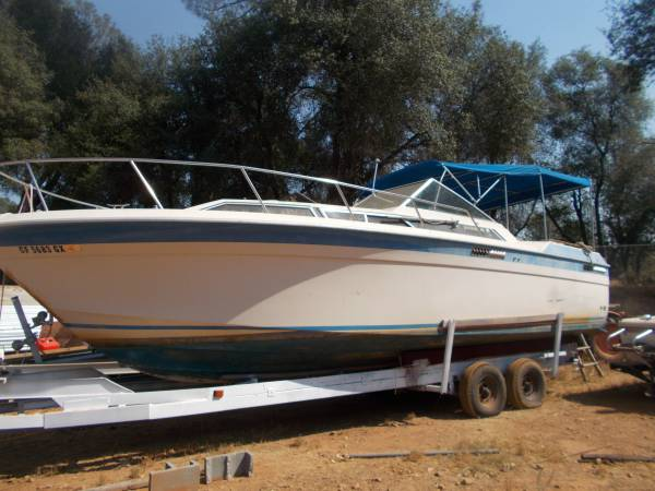 Photo i have a 28 and half cool boat - $18,000 (redding)