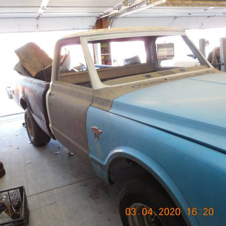 Photo 1970 Chevy C10 swb-Project - $4500 (Yerington)