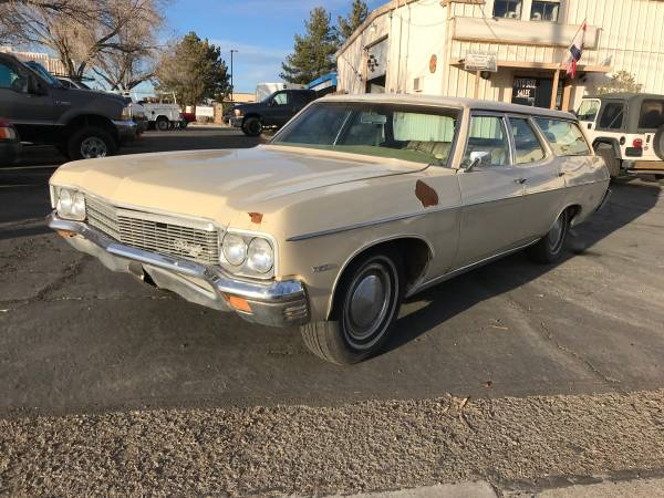 Photo 1970 Chevy Kingswood Station wagon - $2500 (AutoBikeSales in Reno NV)