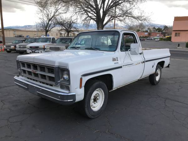 Photo 1978 GMC ck2500 Cer Special 2wd long bed 350, 4sp. (AutoBikeSales in Reno NV)