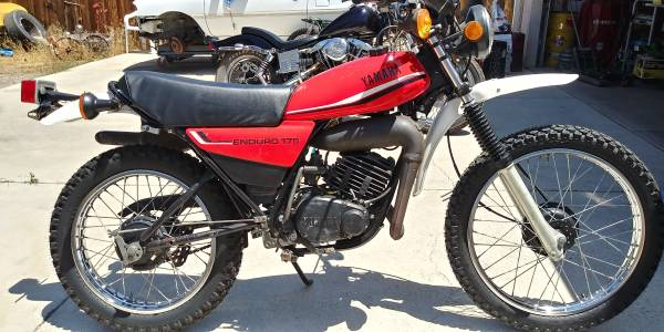 Photo 1981 Yamaha DT175 - $2,500 (Carson City)