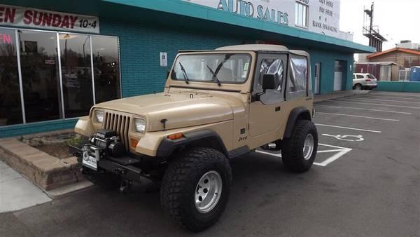 Photo 1988 Jeep Wrangler 2dr