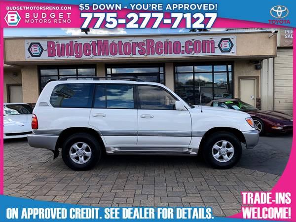 Photo 2000 Toyota Land Cruiser - $14,895 (Budget Motors - Reno Nevada)