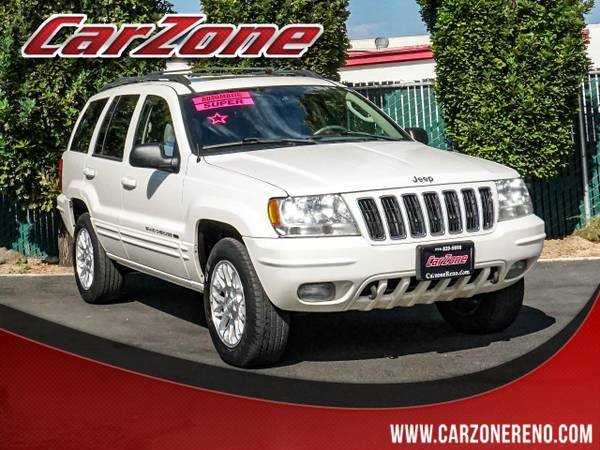 Photo 2003 Jeep Grand Cherokee 4dr Limited 4WD - $7995 (300 CARS TRUCKS SUVS CarZone Reno)
