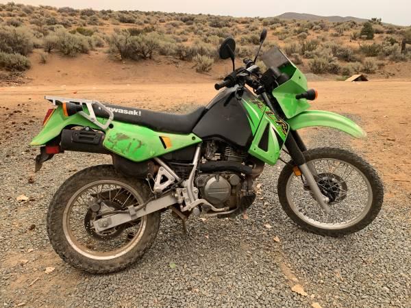 Photo 2005 Kawasaki KLR 650 Dual Sport enduro - $2,200 (Washoe valley)