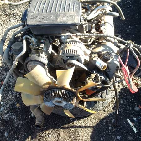 Photo 2006-2007 DODGE TRUCK  DAKOTA  DURANGO ENGINE  TRANSMISSION - $4 (AUBURN)