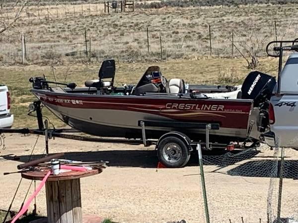 Photo 2007 CrestLiner 1600 Fish Hawk Fishing Boat - $11,800 (Reno, NV)
