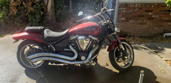 Photo 2008 Yamaha Road Star Warrior XV1700 For Sale - $3,500 (Reno)