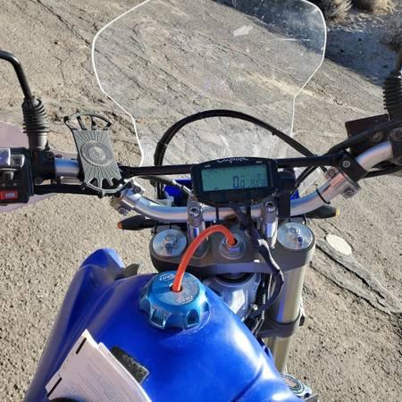 Photo 2008 yamaha wr250r - $7,000 (washoe valley)