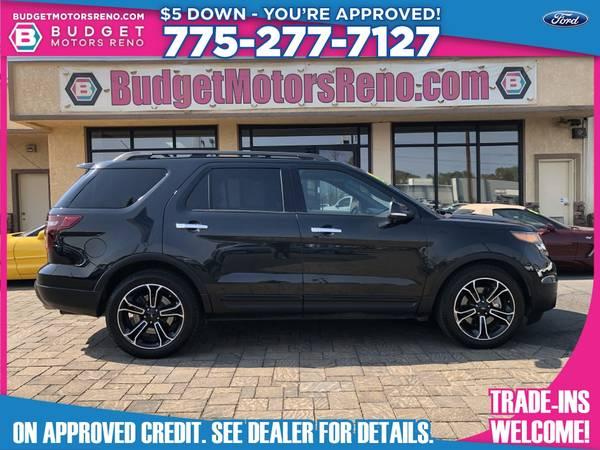 Photo 2013 Ford Explorer - $24,990 (Budget Motors - Reno Nevada)