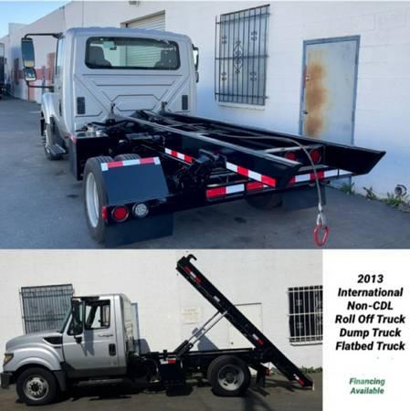 Photo 2013 international roll off dumpsters truck - $47,500 (Sacramento)
