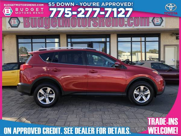 Photo 2015 Toyota RAV4 RAV 4 RAV-4 - $17,990 (Budget Motors - Reno Nevada)