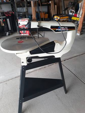 Photo 20quot Delta Scroll Saw - $165 (Reno - Red Rock area)