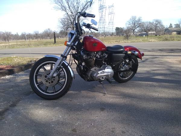 Photo 81 XLH Ironhead Sportster - $5000 (Anderson)