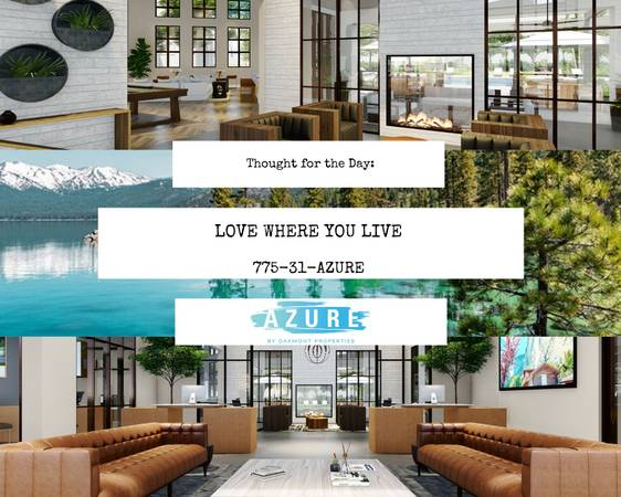 Photo Azure Offers LUXURY and CONVENIENCE above all others (Reno, Sparks, San Francisco,Spanish Springs, Carson City, Fe)