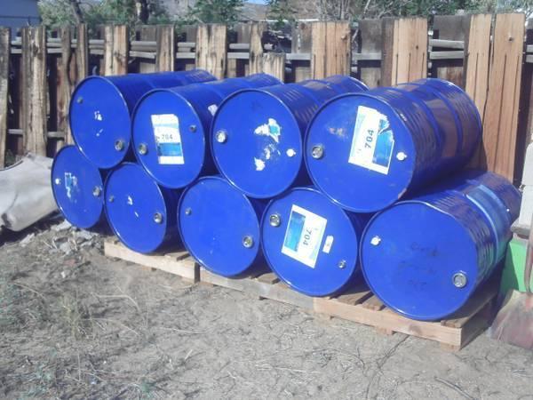 Photo Barrels, 55 gallon steel food grade in good shape - $13 (Carson City)