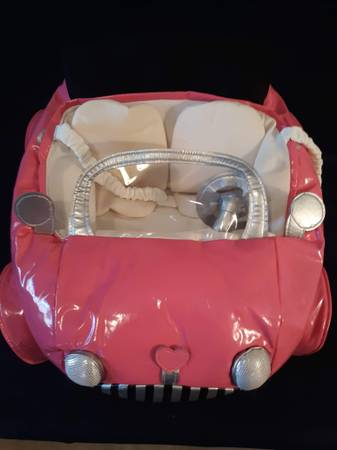 Photo Build a bear pink car - $5 (Gardnerville)