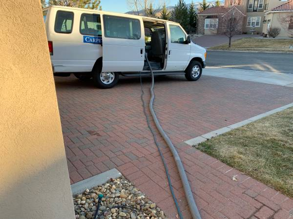 Photo Carpet Cleaning Van and Equipment - $9000 (Reno)