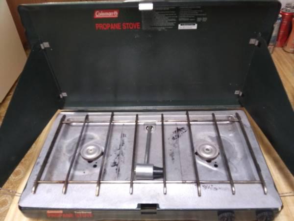 Photo Coleman propane stove - $30 (Carson city NV)